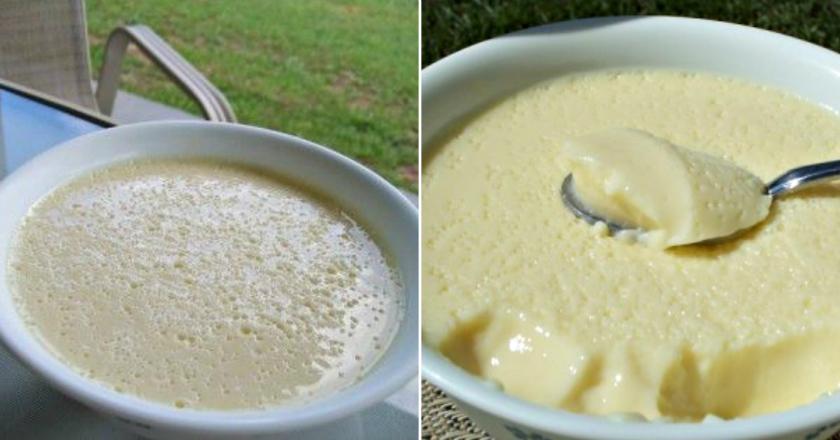 Воздушный крем-десерт за 5 минут: нежный, сливочный и очень легкий! Разрешается даже при диете. Заменил мне все лакомства!