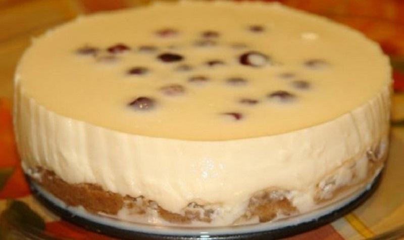 Элегантный чизкейк без выпечки со сгущенкой часто готовлю летом. Мои дети обожают этот десерт.