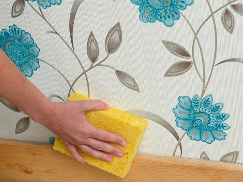 6 невероятно простых способов очистить обои от пятен. Теперь знаю как!