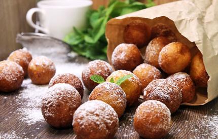 Творожные пончики — 6 лучших рецептов с начинками и без