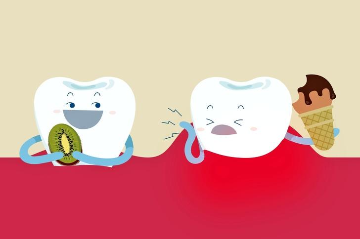 Как сохранить здоровье зубов и отбелить их с помощью еды