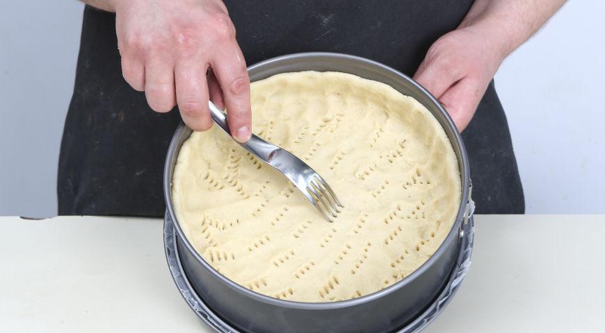 Открытый пирог с ягодами