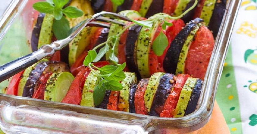 Как запечь овощи