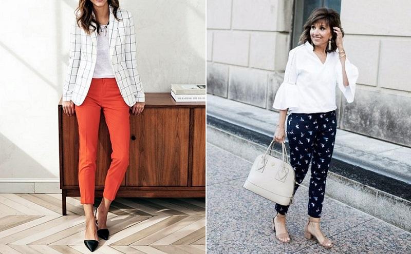 Модные чинос для женщин за 50: 13 простых образов на каждый день. Выглядеть стильно в зрелом возрасте легко!