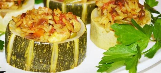 Фаршированные кабачки — самые вкусные рецепты простого и оригинального блюда
