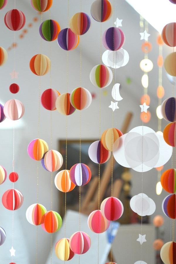 21 идея для декора помещения. С помощью обрезков обоев можно создать настоящий праздник!