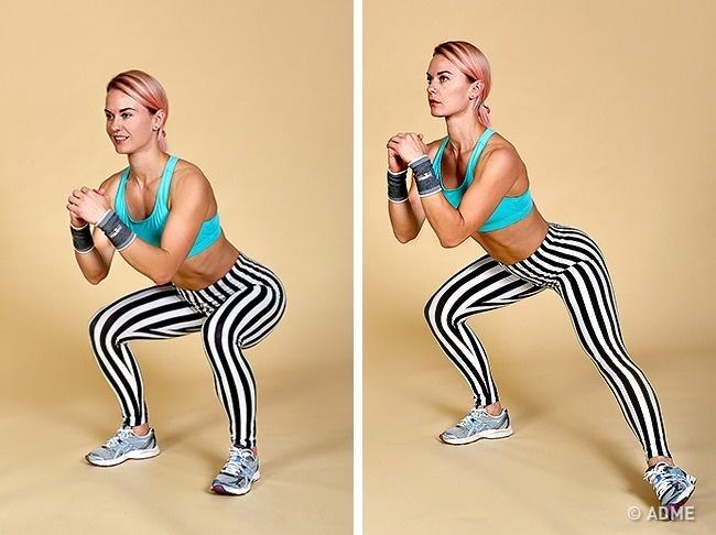 12 упражнений, чтобы подтянуть попу и ноги за 1 неделю