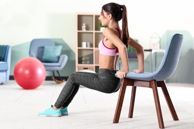 тренировка с фитболом для похудения