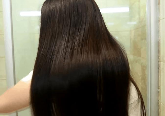Маска для волос с эффектом ламинирования